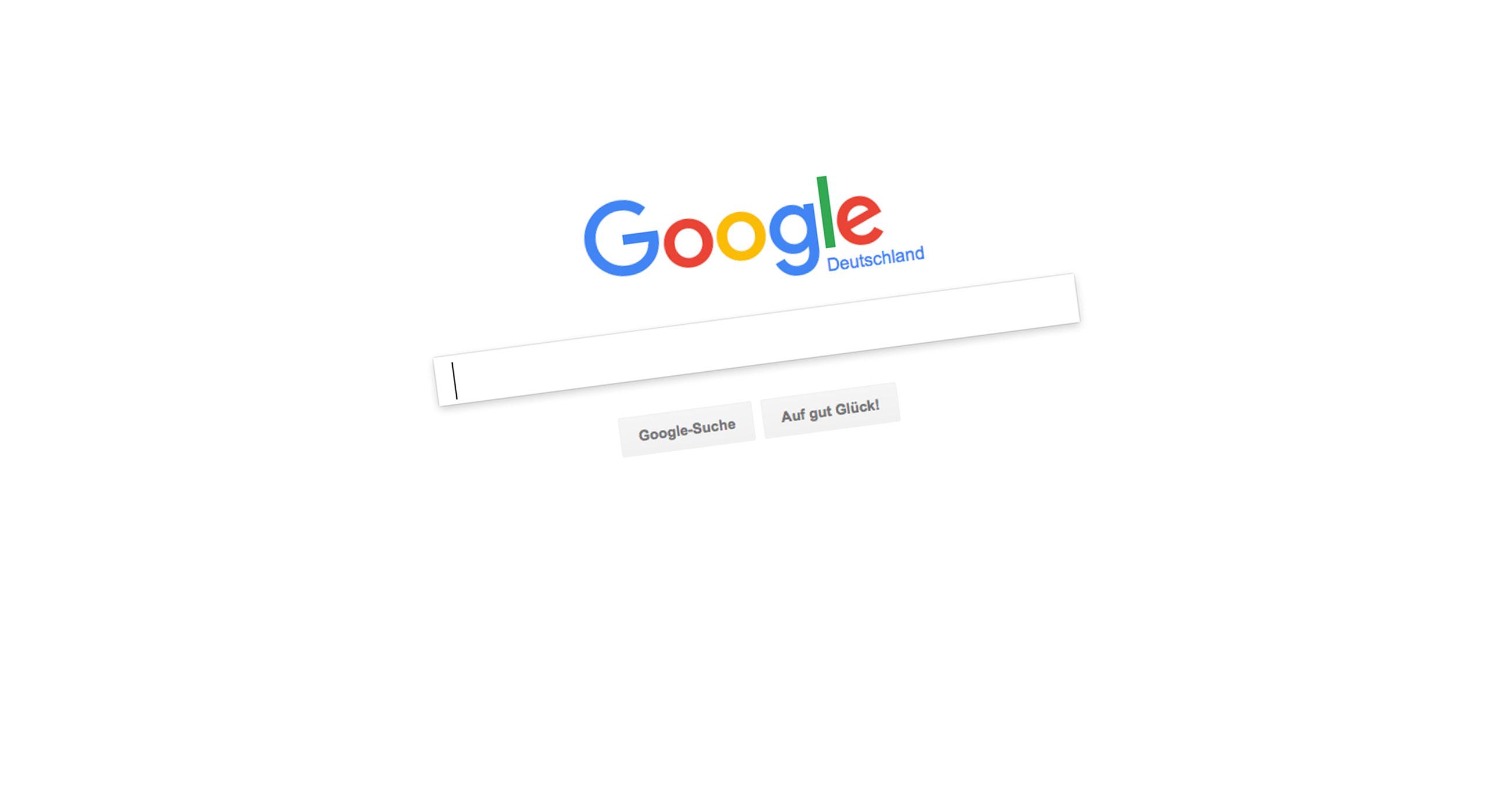 Google unser, geheiligt sei dein Name