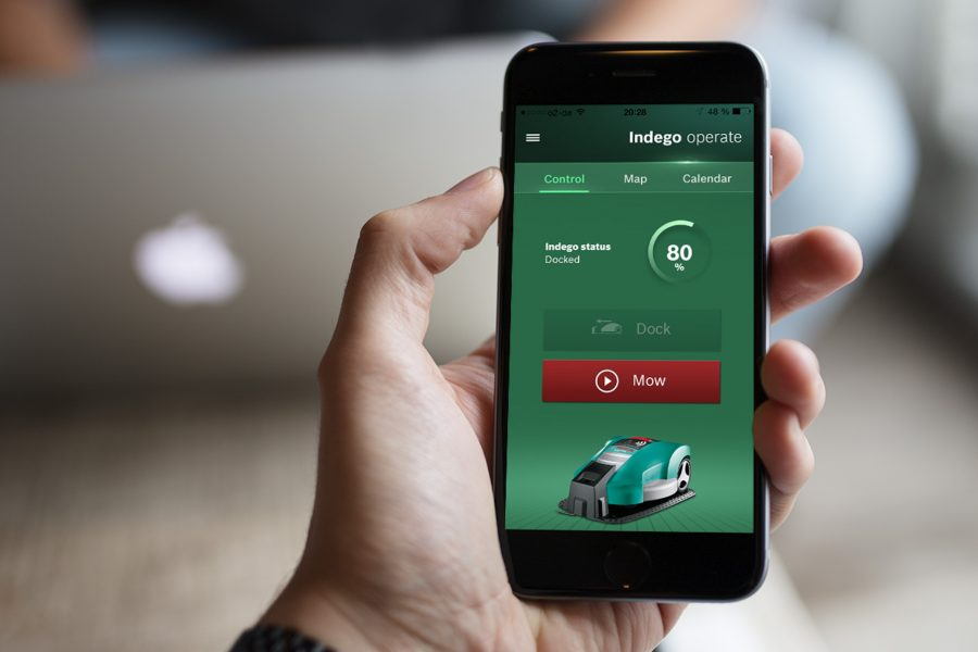 Bosch Indego Connect App